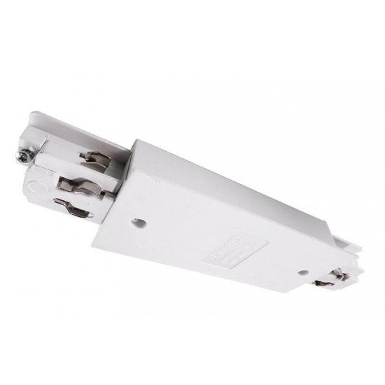 Коннектор Deko-Light straight connector with power supply option for wing track 333211